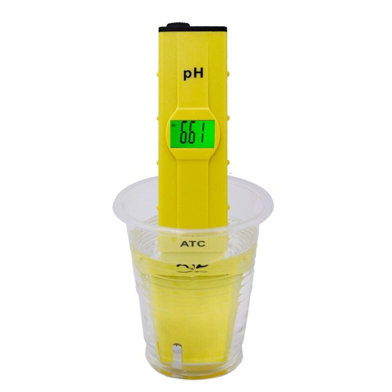 все цены на Digital waterproof aquarium electrode PH meter accuracy 0.01 with backlight portable pen design water tester 20%off