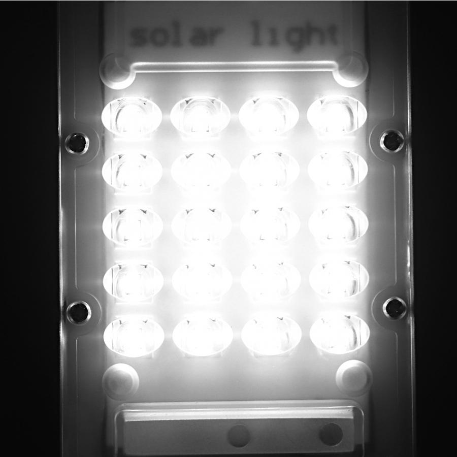 20W Outdoor Waterproof Solar Powered 20 LED Light Activated Remote Control Garden Solar Power Light Wall in Solar Lamps from Lights Lighting