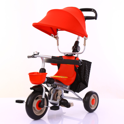 Children's tricycle baby stroller folding infant child bicycle