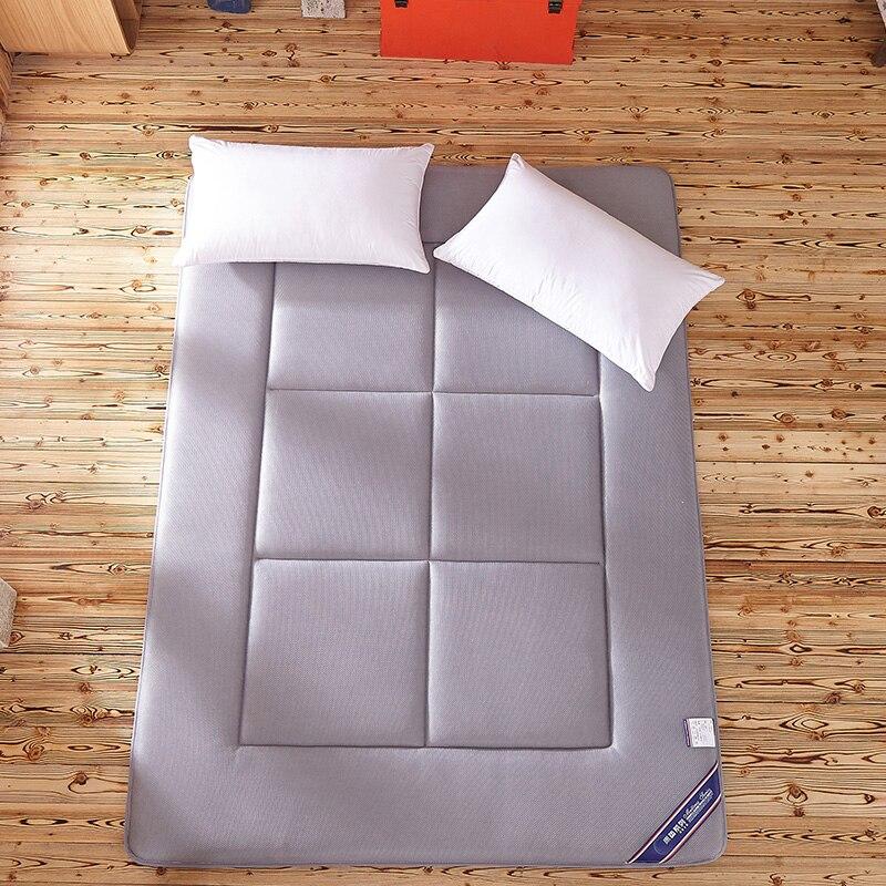 Dormir Tapete do Assoalho do Tapete Tatami Colchão Pad Dobrado 4 CM Espessura Preguiçoso Cama Esteiras Dupla Almofada para o Quarto e Escritório