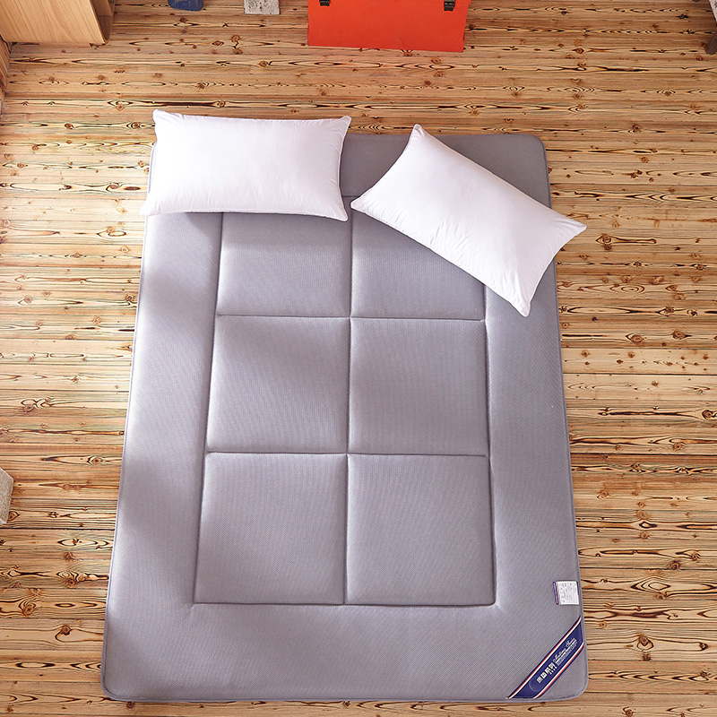 Sleeping Rug Tatami Mattress Pad Folded Floor Carpet 4CM Thickness Lazy Bed Mats Double Cushion for Bedroom and Office sand shell starfish pattern floor area rug