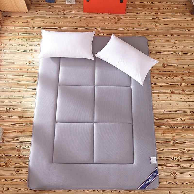 Спальный коврик татами наматрасник сложенный ковер пола 4см Толщина ленивый прикроватные коврики двойные подушки для спальни и офиса