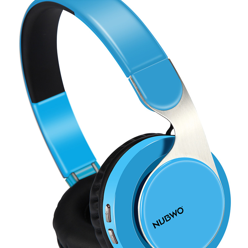 NUBWO S8 Bluetooth 4.2 Wireless + Wired Headphones With Microphone ...