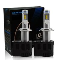 P6 H7 LED CANBUS Car Headlight Bulbs 1 Pair 10400LM 55W 3000K 4000K 5000K 6000K For