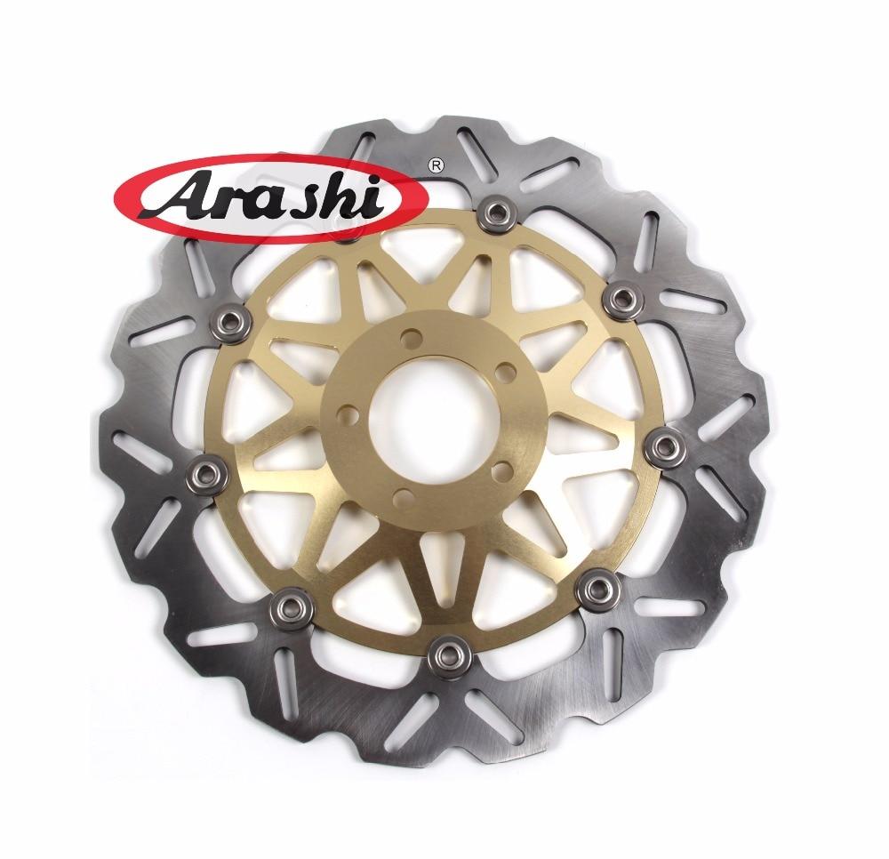 Arashi 2PCS For KAWASAKI ZZR 1100 1993 1994 1995 1996 1997 1998 1999 Motorcycle CNC Front Brake Disc Brake Rotors