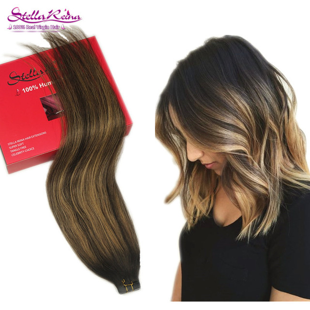Ombre Blonde Balayage Hair Highlights Dark Brown Color 2 227 Skin
