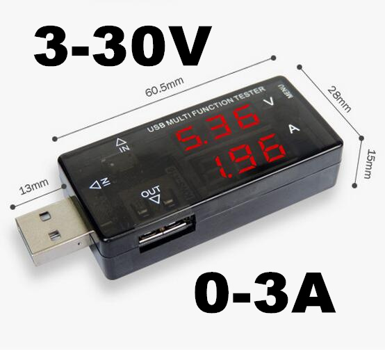 10 unids USB multifunción probador de carga banco de potencia medidor de capacid