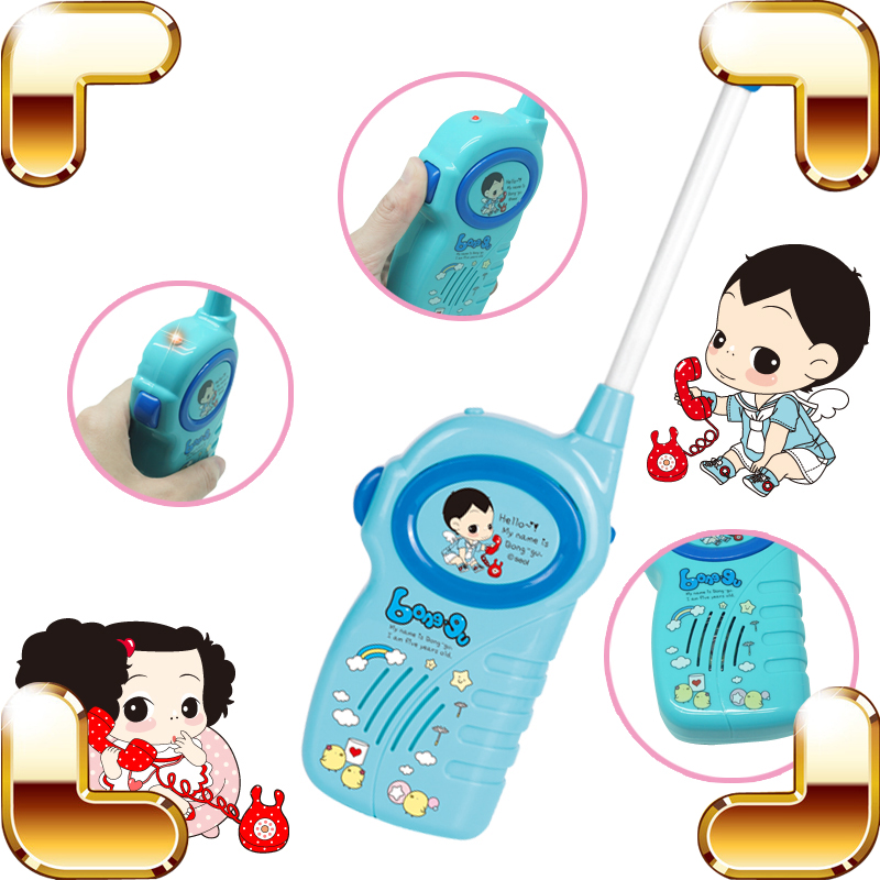 New Coming Gift Baby Toy Walkie Talkies Children Communicate Talking Machine Family Interactive Game Cute Long Distance Intercom