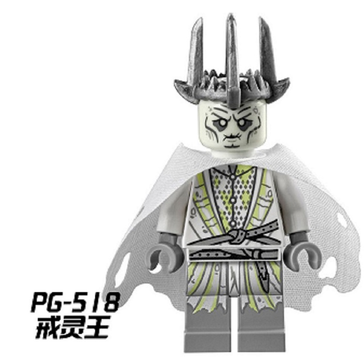 Single Sale Lord of the Rings Figures Witch-king of Angmar The Black Gate Building Blocks Collection Toys For Children PG518
