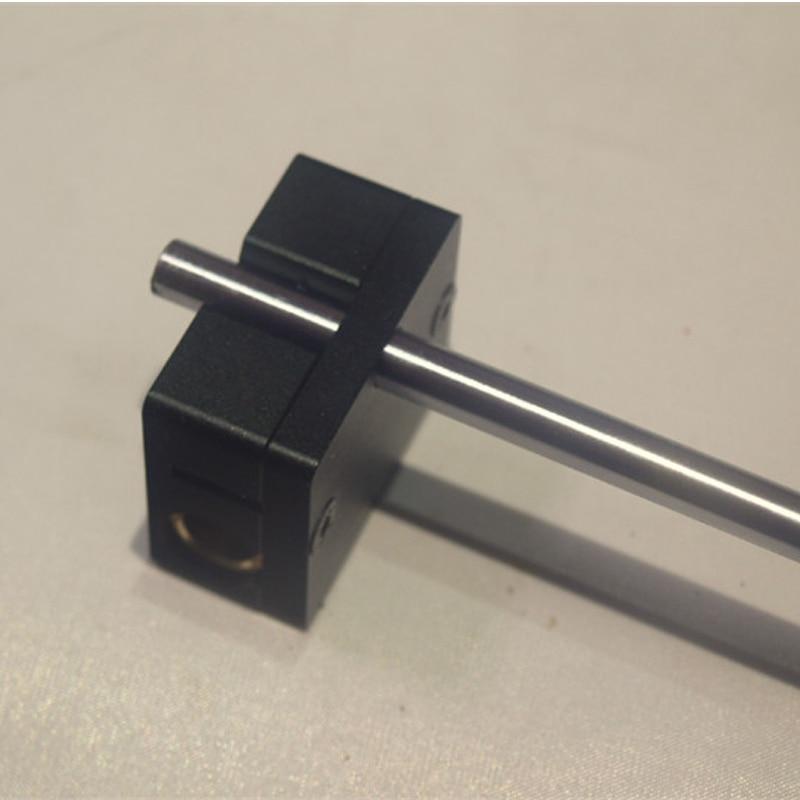 Nueva um2 versión mejorada full metal Correa slider grafito hecho de aleación de aluminio para Ultimaker 2 Slider 4 unids/set
