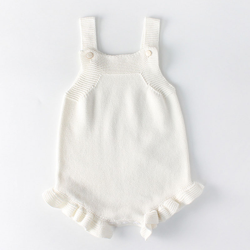 Spring Baby Girls Clothes Baby knitted Romper Set Newborn Baby Girl Cardigan Infant Boys Sweater Cotton Coat Baby Jumpsuit 5