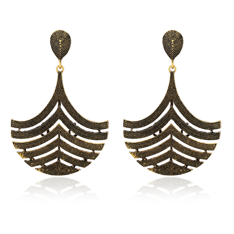 H:HYDE Fashion Vintage Womens Special Design Dangle Earrings 2018 New Luxury Classic Beautiful Big Drop Earring Jewelry Gifts