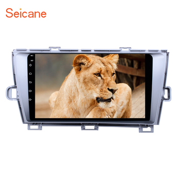 Seicane 2Din Android 8.1 9 Head Unit Car Radio Stereo GPS car Multimedia Player For Toyota Prius 2009-2013 Left hand driver image