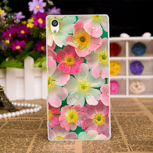 Cases with Floral Design for SONY Xperia