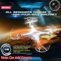 RC Quadcopter Skytech M62 2 4G 4CH 4 Axis High Speed White UFO Model With Stable