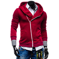 2016 Winter Autumn Fashion Brand Men Hoodies Mens Casual Sportswear Male Hoody Zipper Long Sleeve Sweatshirt