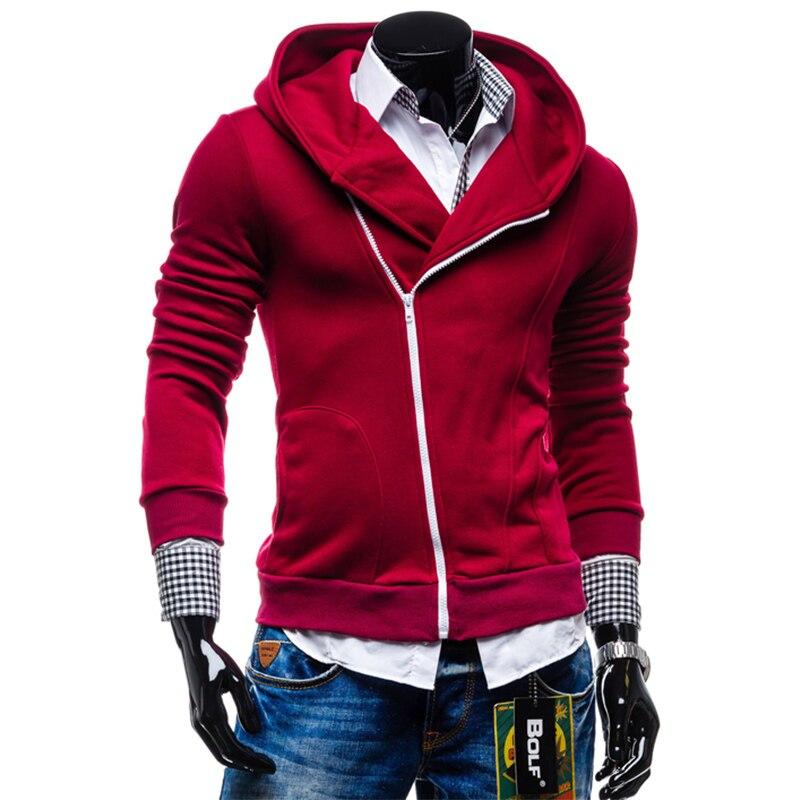 2e4eed692 2016 Winter&Autumn Fashion Brand Men Hoodies Mens Casual Sportswear Male  Hoody Zipper Long Sleeve Sweatshirt Jacket S XXL SWY13-in Hoodies &  Sweatshirts ...