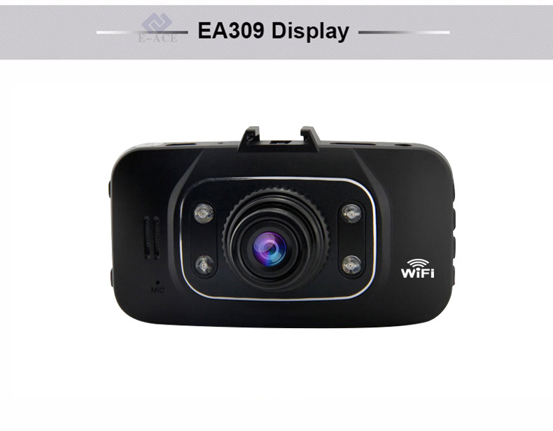 E-ACE Hidden Wifi Mini Car Dvr Full HD 1080P Video Recorder Night Vision Dvrs Auto Dash Cam Dual Camera Lens Automotive Car Cams 29