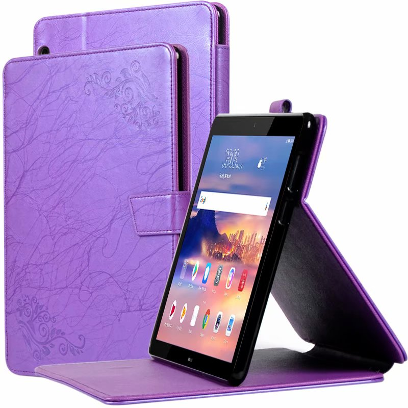 Case For Huawei Huawei Mediapad T5 10 AGS2-W09 AGS2-L09 AGS2-L03 10.1 Printing Pattern Stand Cover + Gift