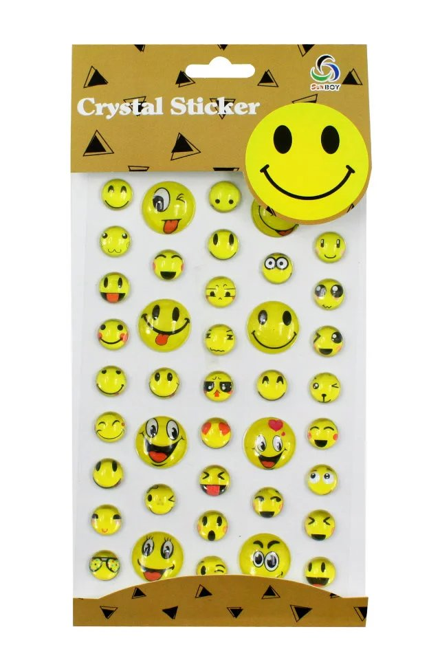 Toys & Hobbies 10 Pcs Kids Classic Toys Cartoon Emoji Smile Face Expression 3d Stickers Children Pvc Stickers Bubble Stickers Punctual Timing Classic Toys