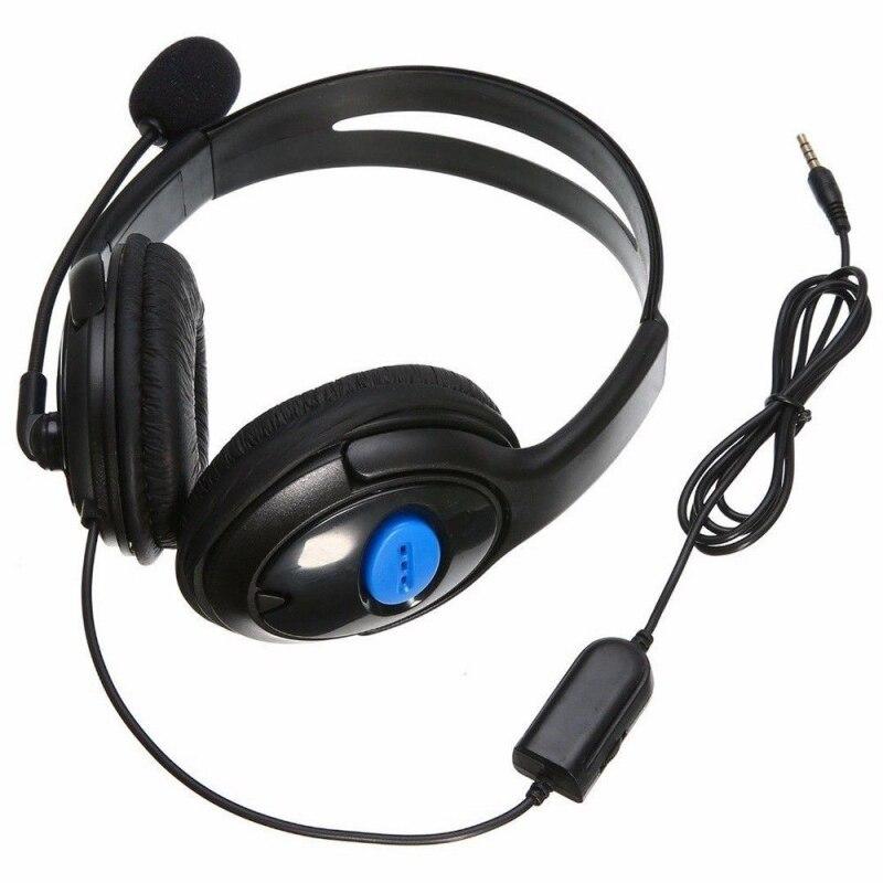 3,5mm Verdrahtete Kopfhörer Spiel Gaming Kopfhörer Headset Mit Mikrofon Mic Kopfhörer für PS4 Sony PlayStation 4/PC Computer heißer