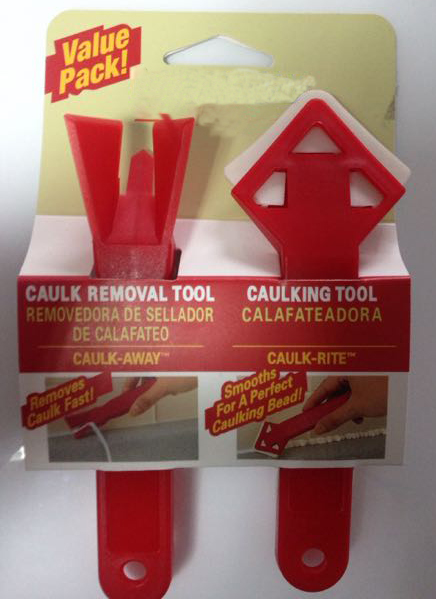 Free Shipping Caulk Away Remover And Finisher Caulking Tools Made By Builders Choice Tools Limited