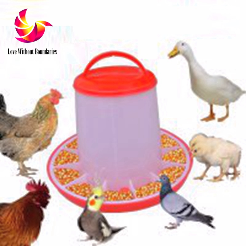 Placed in a large cage, Automatic feeding device for birds and chickens, Resistance to aging, Cage attachment, feed, storage