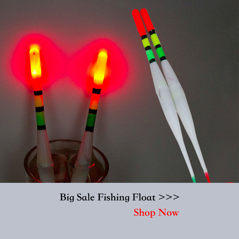 Cheap good sealed plastic fishing float bobber with led for Floating fishing light