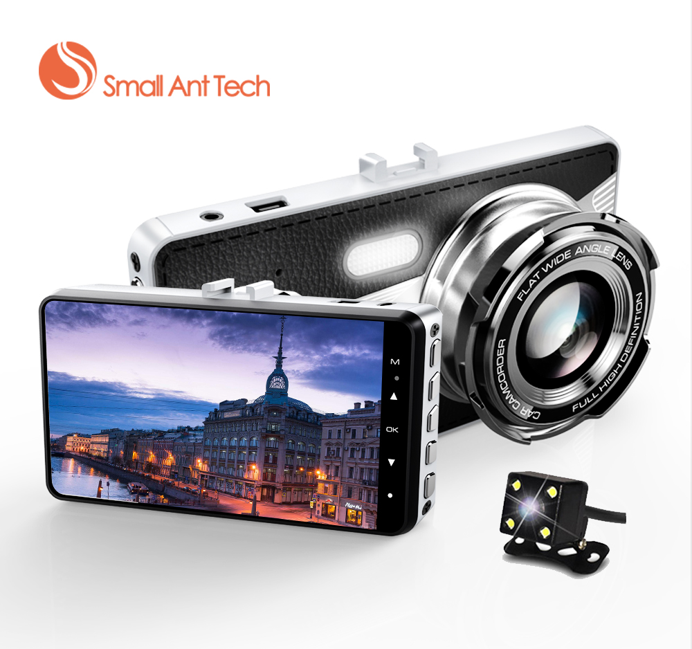 Full HD 1080P Dual cameras Car Vehicle HD Dash Car Camera DVR Cam Recorder with