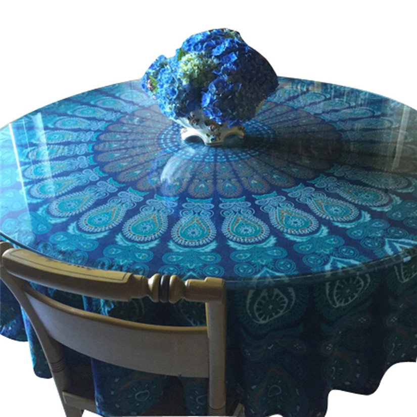 New Qualified Round Beach Pool Home Shower Towel Blanket Table Cloth Yoga Mat Levert Dropship dig7216