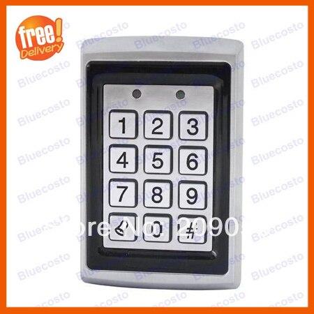 Metal Proximity RFID Door Controller Waterproof Password Keypad Access Control System