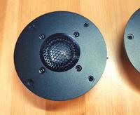 Par 2 pçs melo david puro ser berílio cúpula neo ímã tweeter speaker104mm (2020 nova versão)