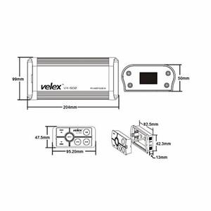 Image 5 - Wasserdichte Marine Bluetooth Verstärker mit USB AUX Audio Streaming Musik Smart Telefon Lade für UTV ATV Motorrad Boot