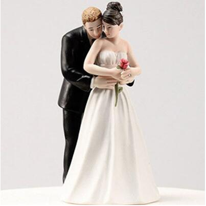 Aliexpress com   Buy Free Shipping Tender Moment Couple Figurine     Free Shipping Tender Moment Couple Figurine Funny Cake Toppers for wedding  decoration