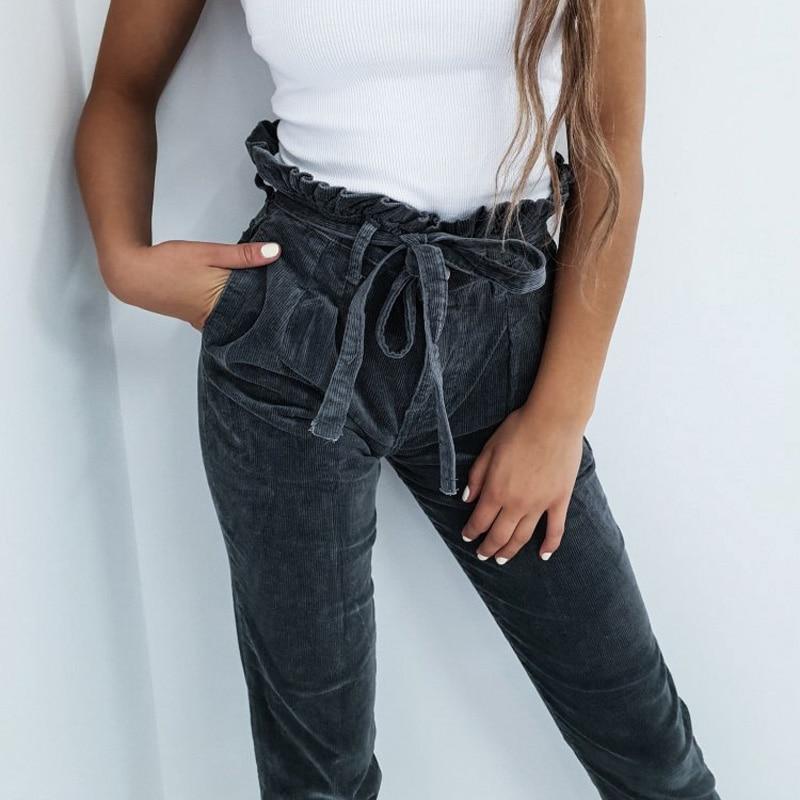 Популярные в инстаграме вельветовые брюки