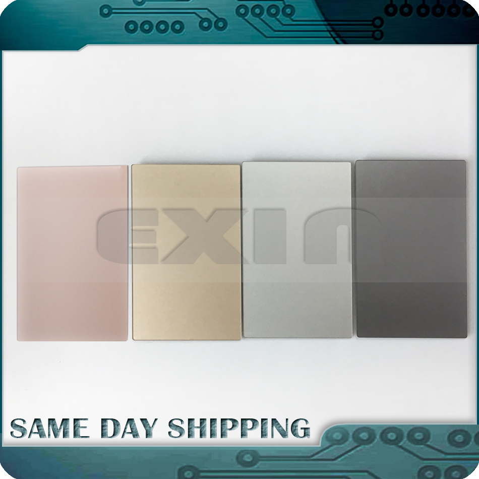 Original 2016 Year A1534 Trackpad for Apple MacBook Retina 12 A1534 Trackpad Touchpad Track Pad Gold/Rose Gold Pink/Grey/Silver genuine new 593 1604 b 923 0441 for macbook air 13 inch a1466 trackpad touchpad ribbon flex cable 2013 2014 2015 year