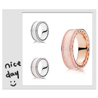 SHINETUNG 1:1 S925 Sterling Silver Ring Personality Simple Ring For The Original Ladies Fashion Jewelry