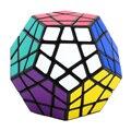 Nueva marca Shengshou 65mm Plástico Megaminx Cubo Mágico Speed Puzzle Juguetes Educativos Para Niños de Los Niños