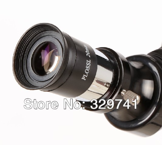 1.25 Inches (31.7mm)  Astronomical telescope Fittings PLOSSL PL20mm Eyepiece HD for Celestron with Foldable Eyecup pl20mm eyepiece telescope accessories