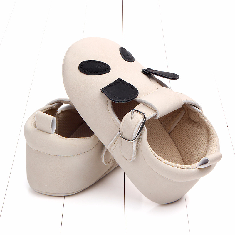 Baby First Walkers Matte leather Shoes for Baby Girl Boy Cartoon Animal Newborn Slippers Footwear Booties Kids Gift Child Shoes (42)