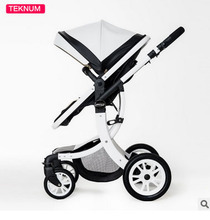 Teknum baby stroller can sit flat lying high landscape folding baby children newborn baby stroller baby