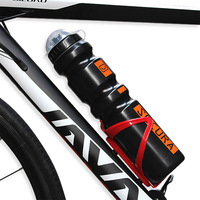 1000ml Outdoor Sports Water Bottle Cycling Bike Bicycle Water Bottles With Dust Cover 98g