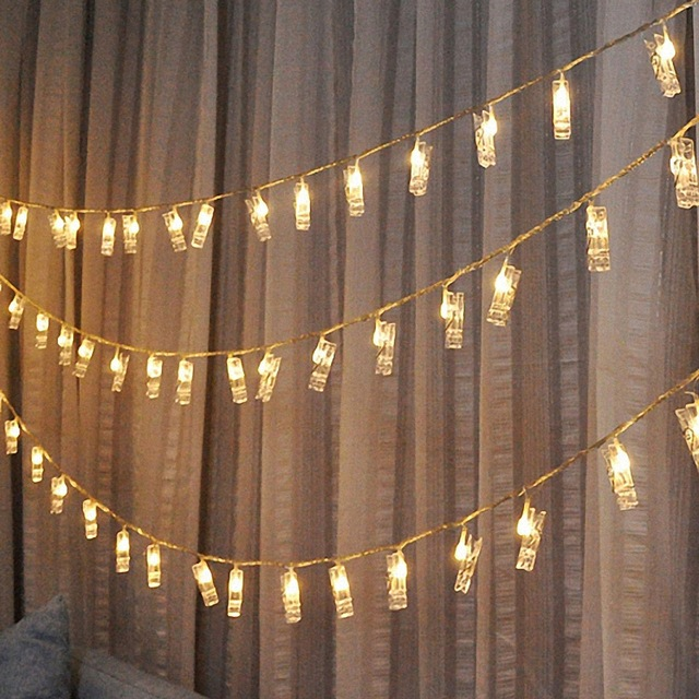 Clip Led Night Light 10 Multicolor For Home Birthday Party Wedding Living Room Decoration In Lights From Lighting On