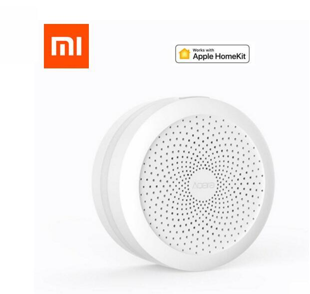 Xiaomi mijia aqara Mi gateway, funciona con Smart Apple Homekit y Aqara Mi Home App con luz Led nocturna