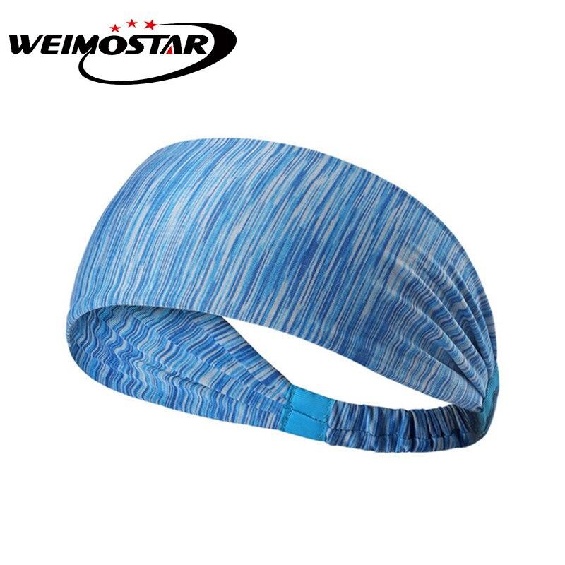 Weimostar Men/Women Fitness Outdoor Sports Running Cycling Anti-sweat Breathable Headband Cycling hawkers Headdress Headwear