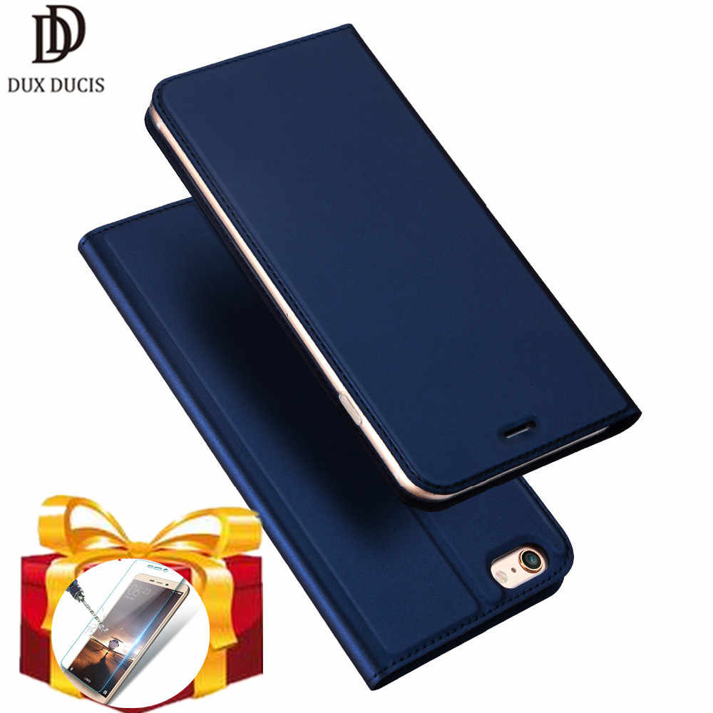 Dux Ducis Luxury Leather Case For iPhone 6 6S 7 8 Plus Book Flip Leather Wallet Cover Bag CASE For iPhone XS Max XR X phone case