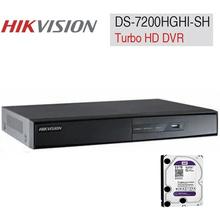 DVR HD-TVI 4/8/16CH DS-7204/7208/7216HGHI-SH H.264 & Dual-stream Turbo DVR HDMI and VGA output analog IP camera triple hybrid