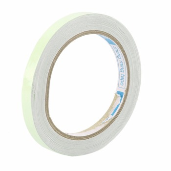 10M 10mm / 12mm / 15mm Fita Luminosa Brilho Autoadesivo No Escuro Segurança Casa Decorações de Visão Noturna Segurança Etiqueta de aviso brilhante 1