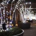 LED Luz de la Secuencia de la decoración de la boda kerstverlichting algodón bola de navidad al aire libre luces de navidad