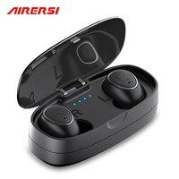 HTK18 TWS Capsule wireless Bluetooth earphone Sports Headphones True 3D stereo handsfree Mini Headset with mic for Iphone huawei